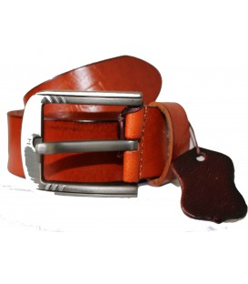 TAN GENUINE LEATHER BELT