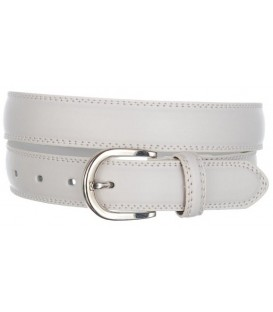 MEN ELEGANT WHITE BELT