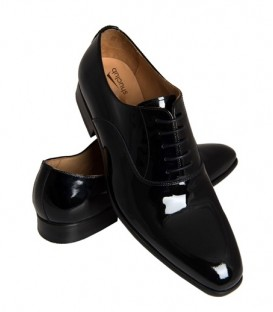 MEN BLACK PATENT DINNER SUIT SHOES