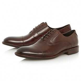 TRADITIONAL COFFEE OXFORD SHOES