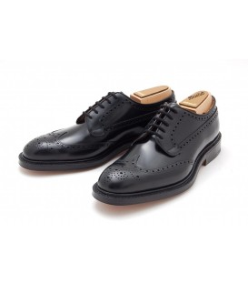 BROGUE LEATHER LACE UP